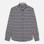 Мужская рубашка Woolrich Flannel Button Down Small Dark Blue фото- 0