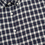 Мужская рубашка Woolrich Flannel Button Down Small Dark Blue фото- 2
