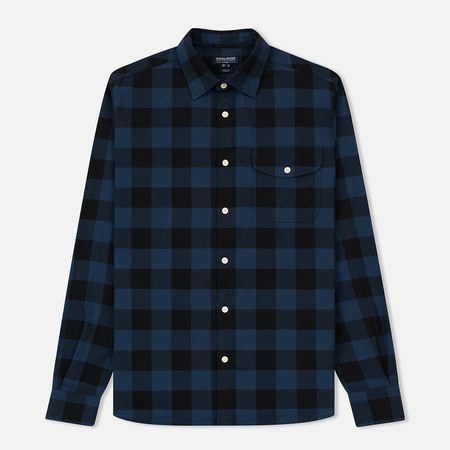 Мужская рубашка Woolrich Logger Navy Buffalo
