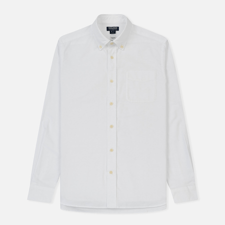Мужская рубашка Woolrich Oxford Optic White