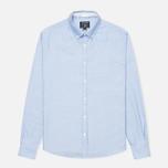 Мужская рубашка Woolrich Oxford YD Light Blue фото- 0