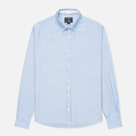 Woolrich Oxford YD Men's Shirt Light Blue