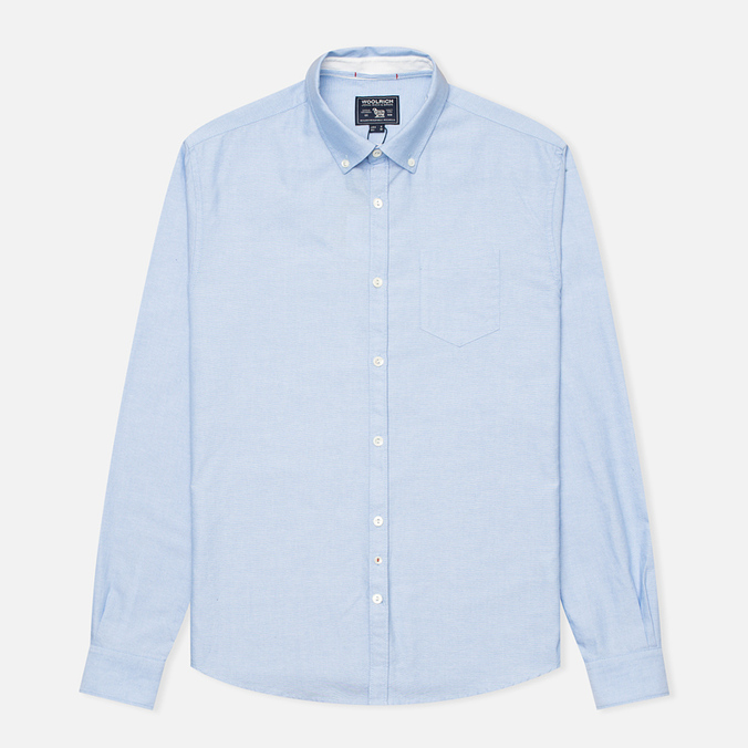 Мужская рубашка Woolrich Oxford YD Light Blue