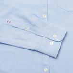 Мужская рубашка Woolrich Oxford YD Light Blue фото- 3