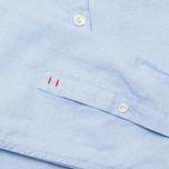 Мужская рубашка Woolrich Oxford YD Light Blue фото- 4