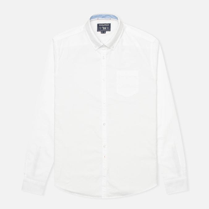 Мужская рубашка Woolrich Oxford YD White