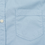 Мужская рубашка Woolrich Stretch Popeline GD Light Pale Blue фото- 2