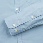 Мужская рубашка Woolrich Stretch Popeline GD Light Pale Blue фото- 3