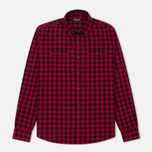 Мужская рубашка Woolrich Workwear Scooter Red фото- 0