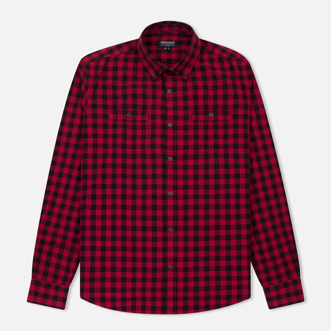 Мужская рубашка Woolrich Workwear Scooter Red