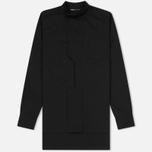 Мужская рубашка Y-3 Minimalist Zip Black фото- 0