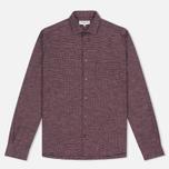 Мужская рубашка YMC Curtis Red фото- 0