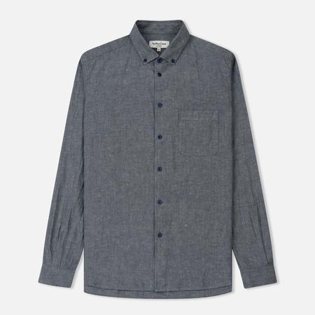 Мужская рубашка YMC Dean Harajuku Cotton Linen Navy