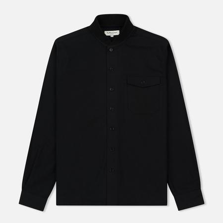 Мужская рубашка YMC Delinquents Rib Collar Black