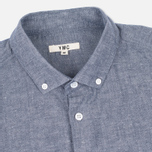 Мужская рубашка YMC Harajuku BD Blue фото- 1
