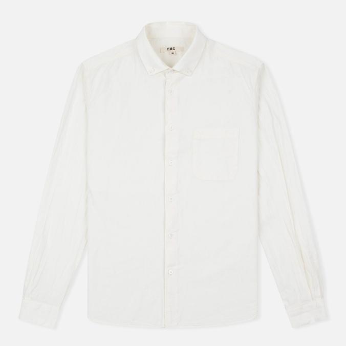 Мужская рубашка YMC Harajuku BD Cream