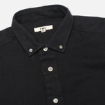 Мужская рубашка YMC Herringbone Button Down Black фото- 1