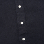 Мужская рубашка YMC Herringbone Button Down Navy фото- 2
