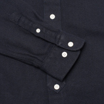 Мужская рубашка YMC Herringbone Button Down Navy фото- 3