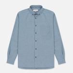 Мужская рубашка YMC Jan And Dean Blue фото- 0