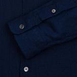Мужская рубашка YMC Jan & Dean Indigo фото- 3
