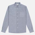 Мужская рубашка YMC Jan & Dean Oxford Grey фото- 0