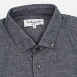 Мужская рубашка YMC Jan & Dean Pocket Navy фото- 1