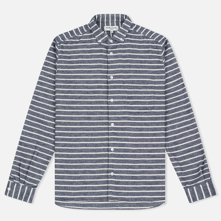 Мужская рубашка YMC Jan & Dean Stripe Navy