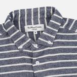 Мужская рубашка YMC Jan & Dean Stripe Navy фото- 1
