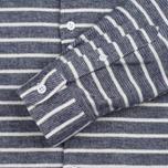 Мужская рубашка YMC Jan & Dean Stripe Navy фото- 3