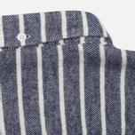 Мужская рубашка YMC Jan & Dean Stripe Navy фото- 5