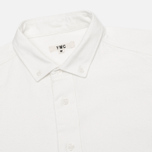 Мужская рубашка YMC Oxford Button Down Cream фото- 1