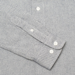 Мужская рубашка YMC Oxford Button Down Navy фото- 3