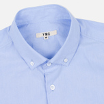 YMC Poplin BD Men's Shirt Blue photo- 1