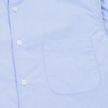 YMC Poplin BD Men's Shirt Blue photo- 2