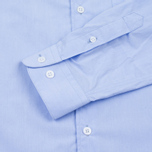 YMC Poplin BD Men's Shirt Blue photo- 3