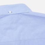 YMC Poplin BD Men's Shirt Blue photo- 5