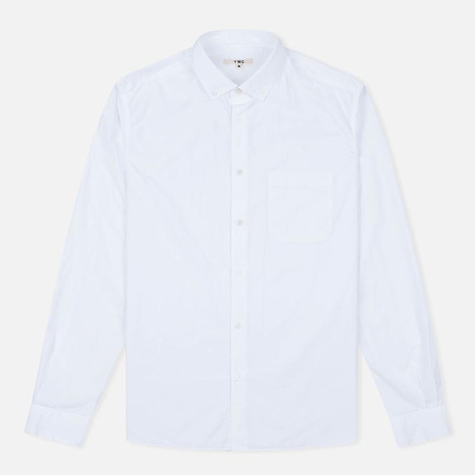 YMC Poplin BD Men's Shirt White