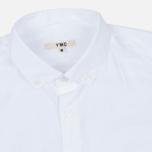 Мужская рубашка YMC Poplin BD White фото- 1
