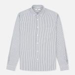 Мужская рубашка YMC Stripe BD Black фото- 0