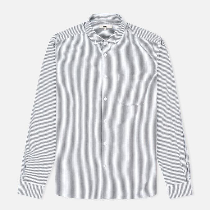 Мужская рубашка YMC Stripe BD Black