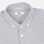 Мужская рубашка YMC Stripe BD Black фото- 1
