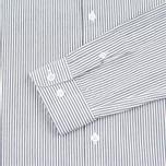 Мужская рубашка YMC Stripe BD Black фото- 3