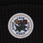 Шапка Aime Leon Dore Waffle Stitch Beanie Black фото- 1