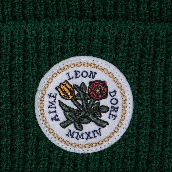 Шапка Aime Leon Dore Waffle Stitch Beanie Green