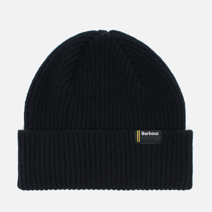 Мужская шапка Barbour International Beanie Black