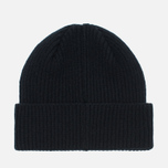 Мужская шапка Barbour International Beanie Black фото- 3