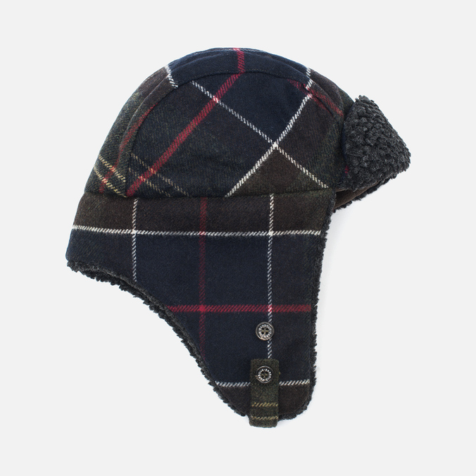 Мужская шапка Barbour Shiel Trapper Tartan