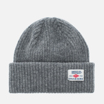 Barbour x Steve McQueen International Everett Beanie Men's Hat Grey photo- 0