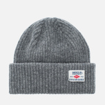 Мужская шапка Barbour x Steve McQueen International Everett Beanie Grey фото- 0